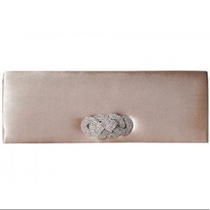 Nina Satin London Clutch